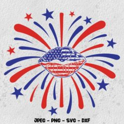 4th of july Fireworks SVG