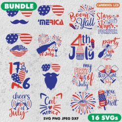 4th of July Bundle SVG