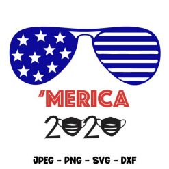 4th of July Merica 2020 svg SVG Autosvgdesign
