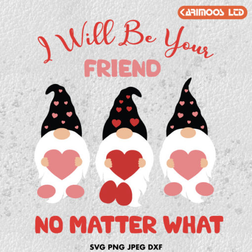 I will be your friend SVG ∞ Karimoos
