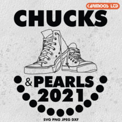 Free Chucks and Pearls 2021 SVG