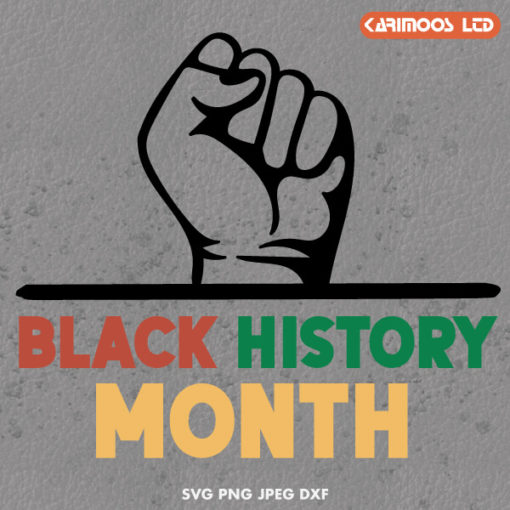 black history month svg